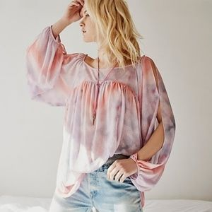 Free People Mystic Tunic pink/rose NWT